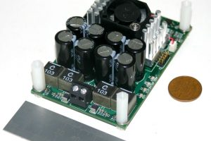 Custom design: Tiny 500W amplifier module