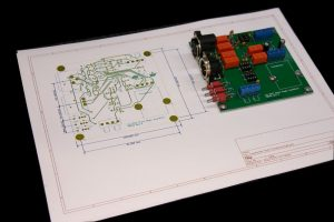 Custom design-  High performance audio test board