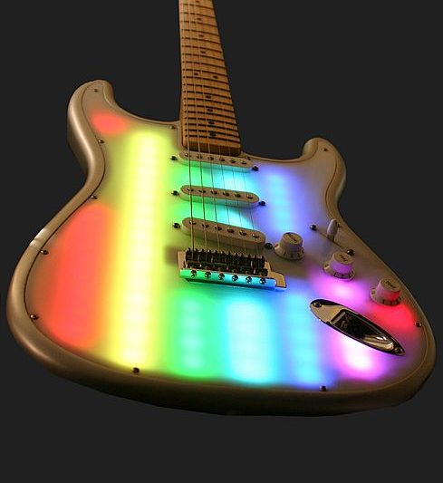 "Nick Rhodes ""Pixelator"" Guitar repair"